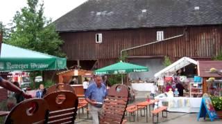preview picture of video 'Bilder vom Hoffest 2012 des Bauernladens Purucker 2/3'