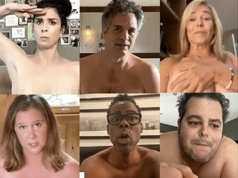 Creepy Celebs Get Naked To Tell You To Vote