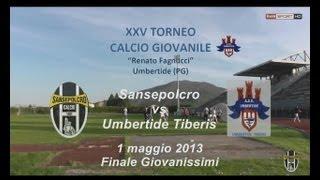 preview picture of video 'Torneo Umbertide 2013 - Finale - Sansepolcro-Tiberis Umbertide 2-1'