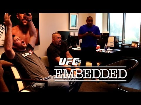UFC 174 Embedded: Vlog Series - Episode 2