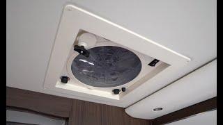 Dometic 12V Automatiklüfter mit Regensensor vom Profi erklärt. Morelo Palace 2020 Werksauslieferung