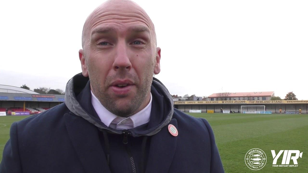 Post Match Interview: Folkestone [A] – League