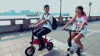 DYU Smart Electric Folding Bike