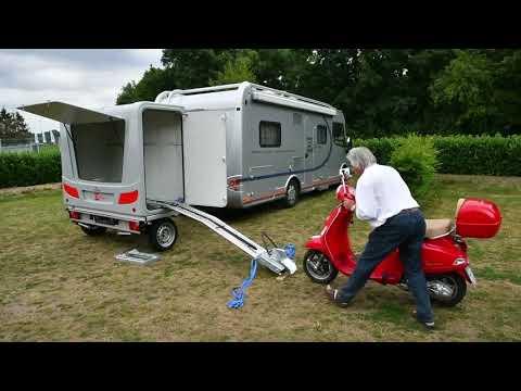 Bbox Wheely mit Motorrad-Auffahrhilfe