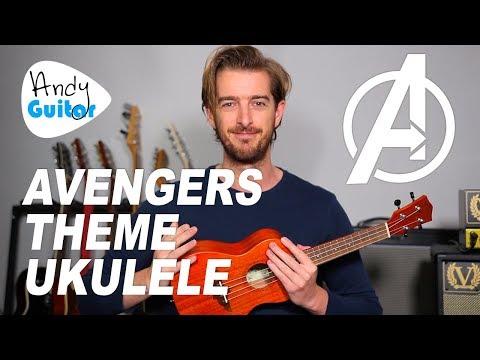 Avengers Theme Song on Ukulele + full tutorial