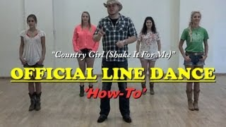 """Official Country Girl Line Dance """"How-To"""""""