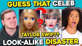 Guess That Celebrity From Their Statue Fails