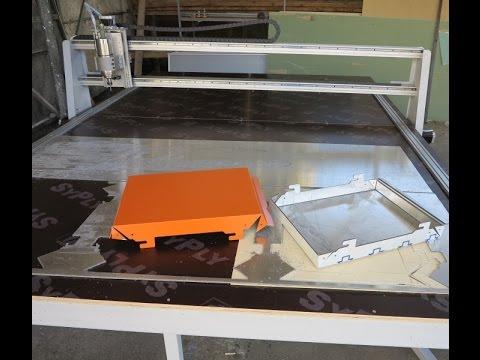 Станок для изготовление фасадных кассет из композита