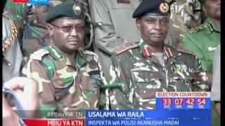 Usalama wa Raila: Inspekta wa polisi akanusha madai kuwa usalama wa Raila Odinga uko hatarini