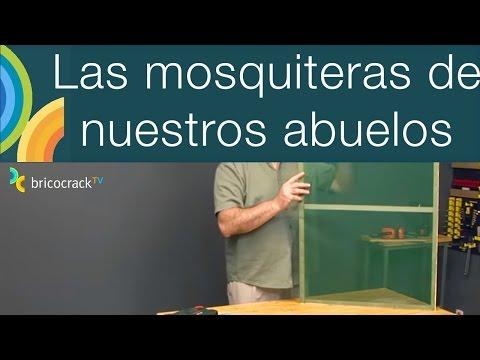 Hacer una mosquitera casera (Bricocrack)