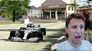 Can I SURVIVE The Isle Of Man TT? In A F1 Car!