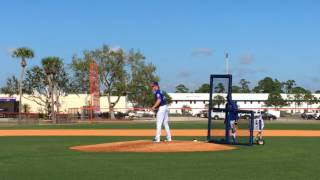 Syndergaard faces live hitters