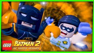 LEGO Batman 2 DC Super Heroes #7 A BATCAVERNA FOI INVADIDA Gameplay Português PC