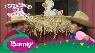 Barney - Old MacDonald - Sing Along! (10 MINUTES)