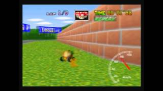 "[MK64] Mario Raceway flap: 27""82 (GOD!)"