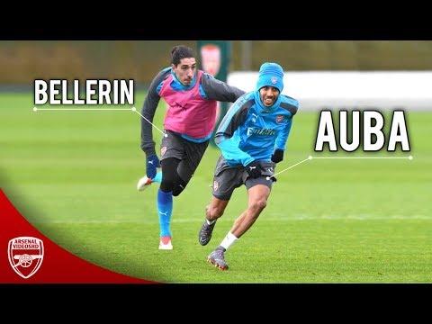 Aubameyang vs Bellerin - Ultimate Speed Battle