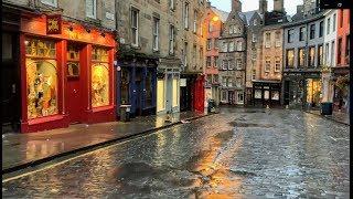 Scotland Walks: Edinburgh (Castlehill- Victoria Street - Grassmarket)