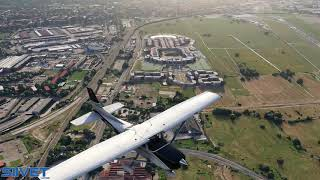 Microsoft Flight Simulator 2020 Flying Over Florence Italy Preview Flight