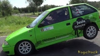 preview picture of video 'Rally Sprint Tychy - III Runda SMT'