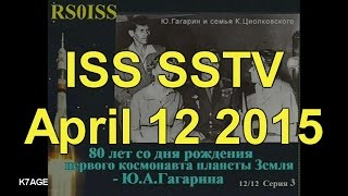 SSTV Video From The International Space Station - मुफ्त