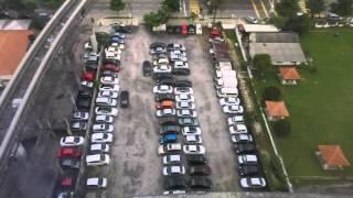 2015-11-30 Timelapse - A carpark in Brickfields, Kuala Lumpur