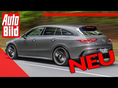 Mercedes AMG CLA 45 Shooting Brake (2019): Neuvorstellung - Sport