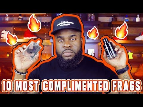 Top 10 Most Complimented Men's Fragrances