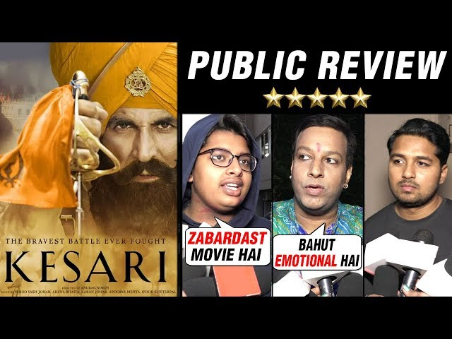 Kesari HONEST Public Review | Akshay Kumar | Parineeti Chopra