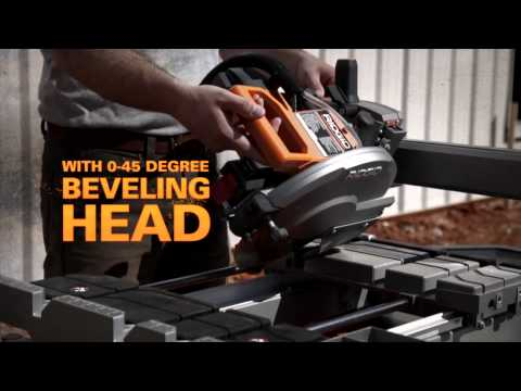"RIDGID Beast 10"" Wet Tile Saw"