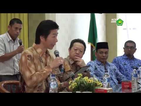 Kementerian Agama Aceh Jalin Kerja Sama Bidang Pendidikan dengan Jepang