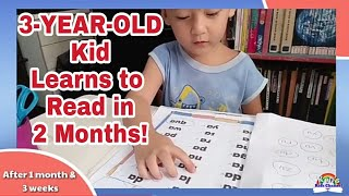 3-YEAR-OLD Kid Jacob Learns to Read in Two Months | How to Teach Your Child to Read
