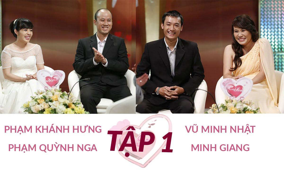 Minh Nhật - Minh Giang và Khánh Hưng - Quỳnh Nga | VỢ CHỒNG SON | Tập 1 | 130804