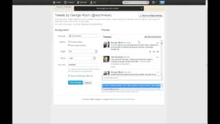 How To: Add Twitter Feed (v1.1 API) to a Wordpress Site in Under 2 Minutes!
