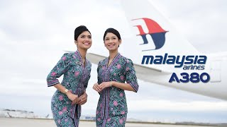 Malaysia Airlines Airbus A380 Tribute + Boarding Music (Full Version)