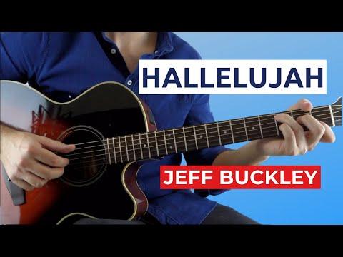 Hallelujah by Jeff Buckley (Fingerstyle Guitar Lesson)