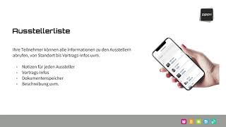 Convention App - Feature Bespiele