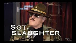 Sgt Slaughter   Death Threats, WrestleMania 7,DX,  Hogan, Warrior, Etc   Notsam Wrestling