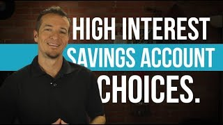 Grow your savings with a high interest savings account.