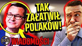Rząd NIE WYPŁACI odszkodowań! Tak Morawiecki ZAŁATWIŁ Polaków | WIADOMOŚCI