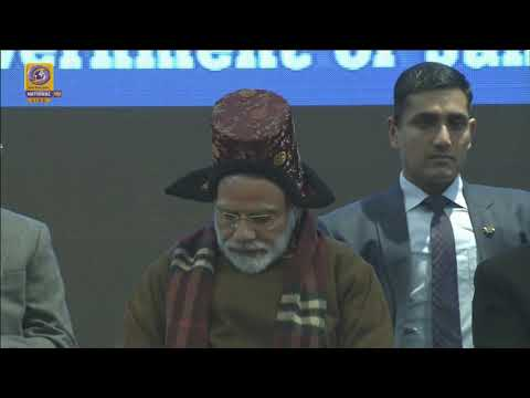 PM Narendra Modi inaugurates & lays foundation stone of various development projects in Leh