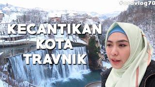 HUJAN SALJU Di Travnik & Keindahan Bagai SURGA Di Jijce, BOSNIA