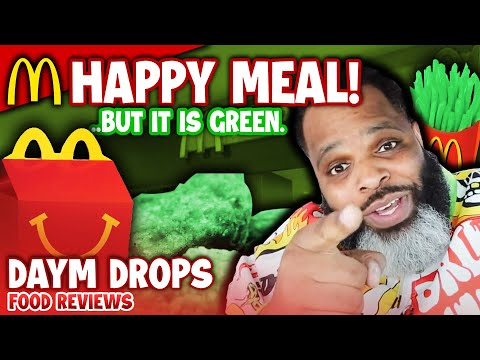 McDonald's St. Patrick's Day Happy Meal IS GREEN ???