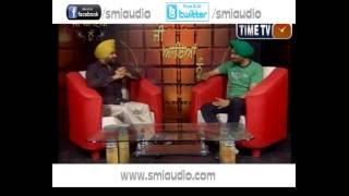 JEE AAYAN NU  VEER SUKHWANT  INTERVIEW  TIME TV CHANNEL