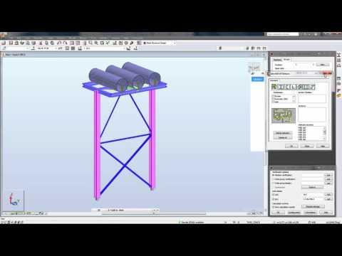 Kết nối Advance Steel và Robot Structural