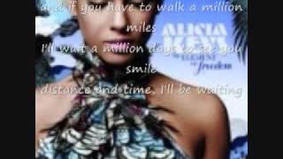 Alicia Keys Distance & Time With Lyrics