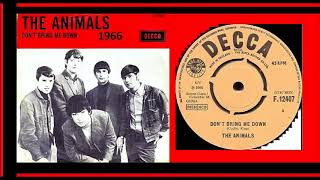 The Animals - Don't Bring Me Down 'Vinyl'