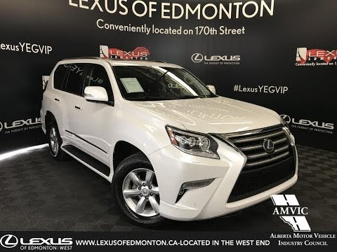 Used White 2016 Lexus GX 460 Technology Package Review - Nisku, AB, Canada