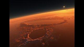 Марс, вид с орбиты  Невероятные снимки красной планеты  Космос, Вселенная 01.07.2018