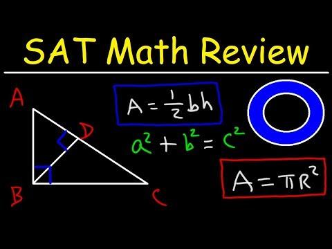 SAT Math Test Prep Online Crash Course Algebra & Geometry ...