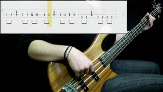 Zox - A Little More Time (Bass Only) (Play Along Tabs In Video)